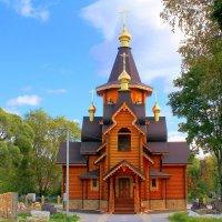 Храм Святителя Николая в пос. Воейково :: Marina Pavlova
