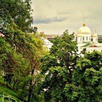 Купола Благовещенского монастыря :: Андрей Головкин