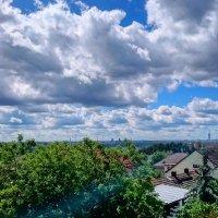и снова небо с облаками у нас :: Ольга Богачёва