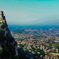 San - Marino, Italia. Torre Monte Titano. :: Mari - Nika Golubka -Fotografo