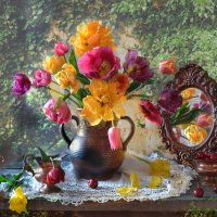 В старом саду... :: Валентина Колова