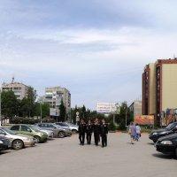 Кадеты в городе. :: Мила Бовкун