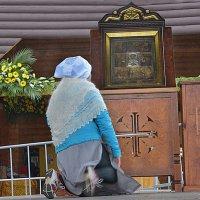 Великорецкий крестный ход. Молитва. :: Борис Гуревич