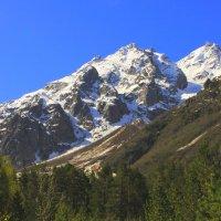 Лучше гор могут быть только горы..., г. Башкара 4241м в лучах утреннего солнца :: Vladimir 070549