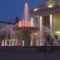 Цвет и музыка воды :: Владимир Клюнк