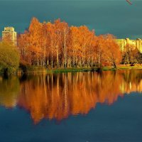 Зазеркалье на закате... :: Sergey Gordoff
