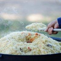 Белорусское национальное блюдо узбекский плов. :: Павел Сущёнок