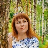 Валентина Духнова В лес приду и обниму берёзку, Расскажу ей про свою печаль, Мы же с ней родные сёст :: ALISA LISA