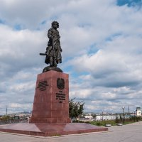 Памятник основателям Иркутска :: Владимир Гришин