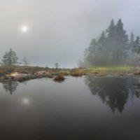 Когда туман, острова плавают в гости друг другу :: Фёдор. Лашков