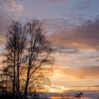 Закат на р. Ангара :: Ruslan