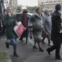Автобус не сломался, в него легковуха въехала.. :: Александр Русинов