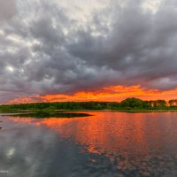 Майский закат :: Наталия Горюнова