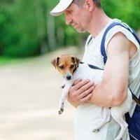 Человек собаке друг. :: Павел Сущёнок
