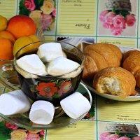Встречал нас утром кофе с маршмеллоу.. :: Андрей Заломленков