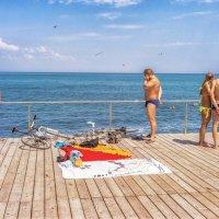 У моря, у синего, моря... :: Вахтанг Хантадзе
