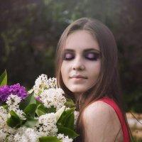 """Фотосесессия  """"Сиреневые дни"""" :: Каролина Савельева"""