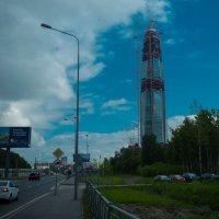 Питер Башня газпрома в Лахте :: Юрий Плеханов