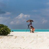 Непогода на Мальдивах. :: Татьяна Калинкина