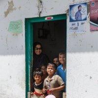 В деревне. Мальдивы. :: Татьяна Калинкина