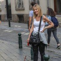 Дама с собачкой :: Владимир Леликов