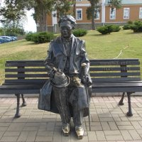 Памятник Леопольду Кёнигу :: Викторина Срыбна