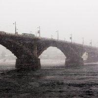 Мост через Ангару :: Юрий Вахненко