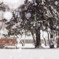 Последний апрельский снег :: Юрий Вахненко