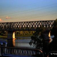 Мост через Сож :: Сергей Землянский