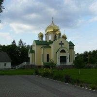 Православный    храм   в   Ивано  -  Франковске :: Андрей  Васильевич Коляскин