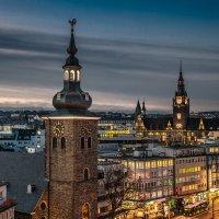 Вечером по крышам Вупперталя :: Konstantin Rohn