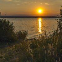 Майский вечер на Нововоронежском водохранилище :: Юрий Клишин