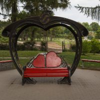 Место , где встречаются влюблённые сердца :: Андрей Нибылица