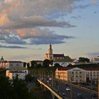 Июньский закат в Гродно :: Мария