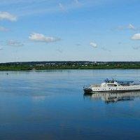 На реке Томь :: Милешкин Владимир Алексеевич