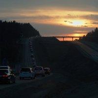 Дорога домой... :: Александр Попов