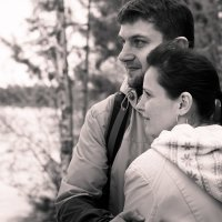 Тромъёган. Геолог с женой. :: Светлана Луговая