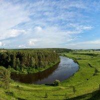 Река Реж,Мантуров камень. :: Александр Рукомойкин