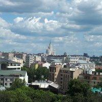 Вид Москвы с десятого этажа :: Валерий Пегушев