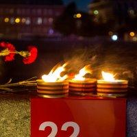 «Свеча памяти» на Крымской набережной :: Оксана Пучкова