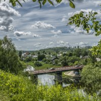 Мост через речку Руза. Московская область. :: Михаил (Skipper A.M.)