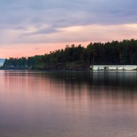 Догорает закат. :: Сергей Адигамов