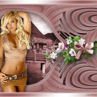 Красивая девушка :: Lyubov Zomova