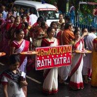 Один из главных праздников в индуизме - RATH YATRA :: Александр Бычков