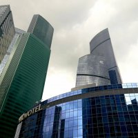 Москва-Сити :: Tata Wolf