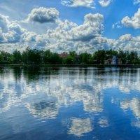 Белое озеро :: Милешкин Владимир Алексеевич