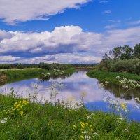 Облака над Клязьмой :: Андрей Дворников