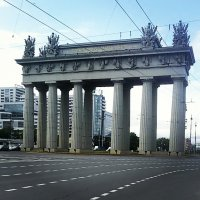 Московские Триумфальные ворота :: Galina Belugina