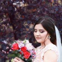 Молодожёны, свадьба, парк Коломенское :: Alex Lipchansky