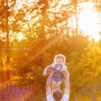 Малышка Варвара в полете :: Дарья Дядькина